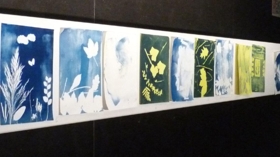 Kunstworkshop der Klasse 9d
