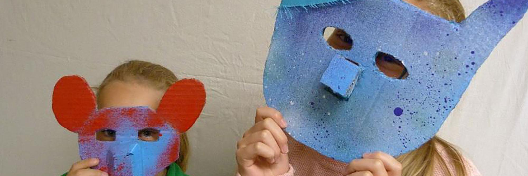 Maskenbau-Workshop Klasse 6a