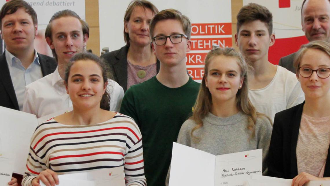 Landeswettbewerb von Jugend Debattiert in Kiel