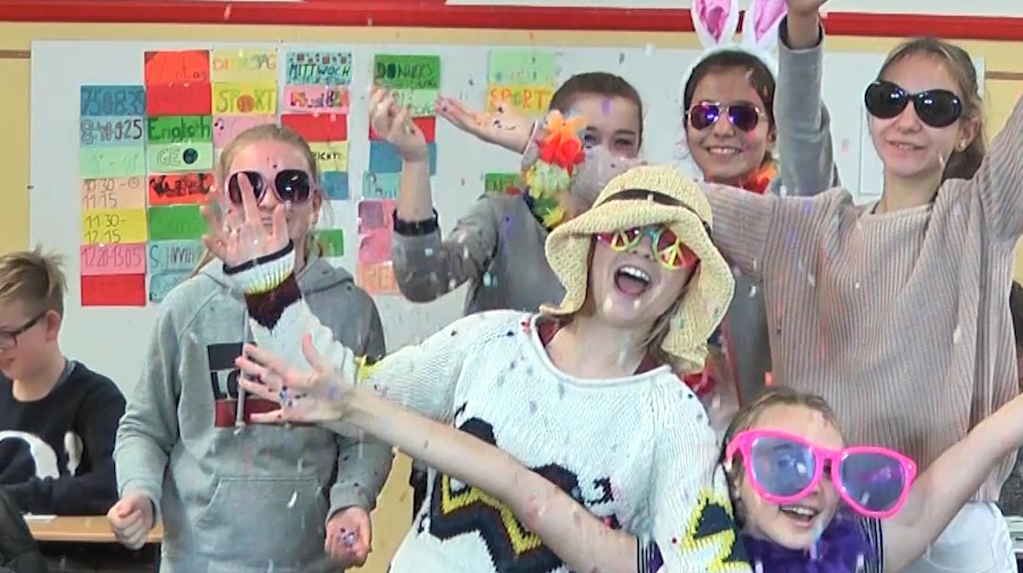 """7. Klasse bei der TV-Show """"Die beste Klasse Deutschlands"""" dabei!"""