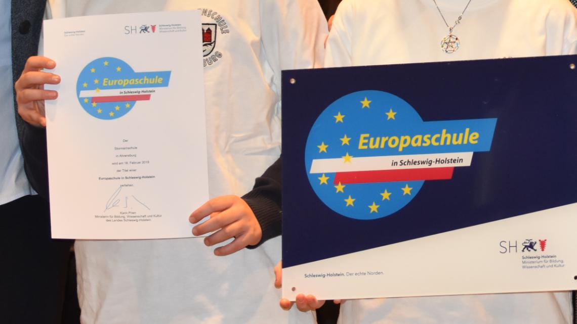 Wir sind Europa(schule)!