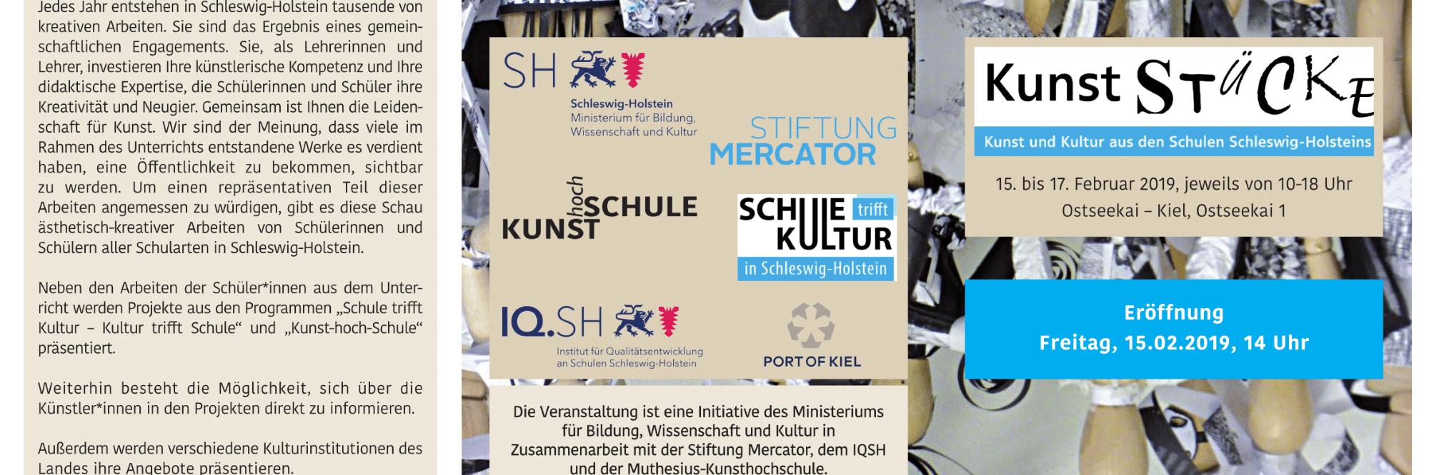 Kunststücke in Kiel