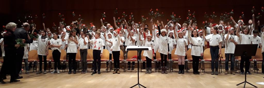 Chorkonzert der 5. Klassen mit Exklusivinterview